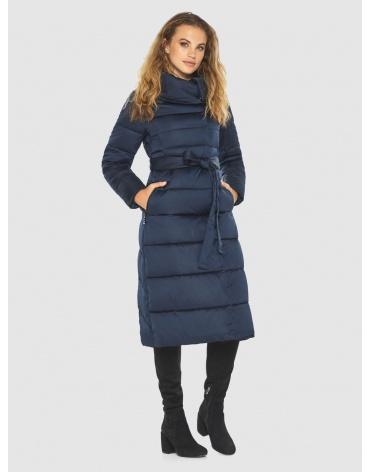 Брендовая синяя куртка женская Kiro Tokao 60015 фото 1
