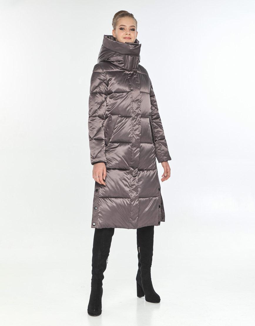 Куртка оригинальная женская Tiger Force на зиму цвет капучино TF-50291 фото 1