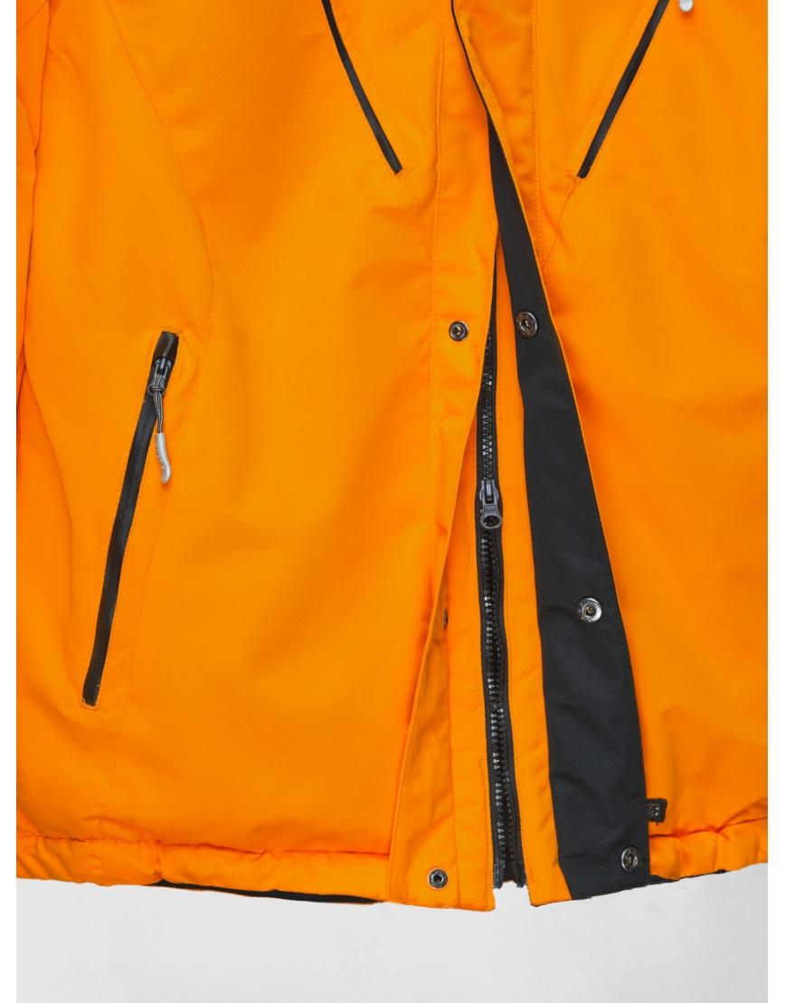50 (L) – последний размер – оранжевая горнолыжная куртка Iguana зимняя мужская 200027 фото 4