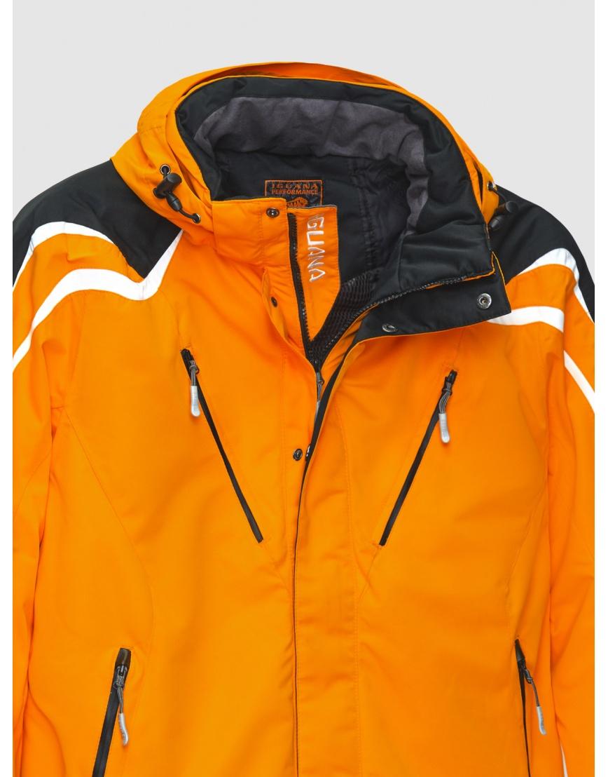 50 (L) – последний размер – оранжевая горнолыжная куртка Iguana зимняя мужская 200027 фото 3