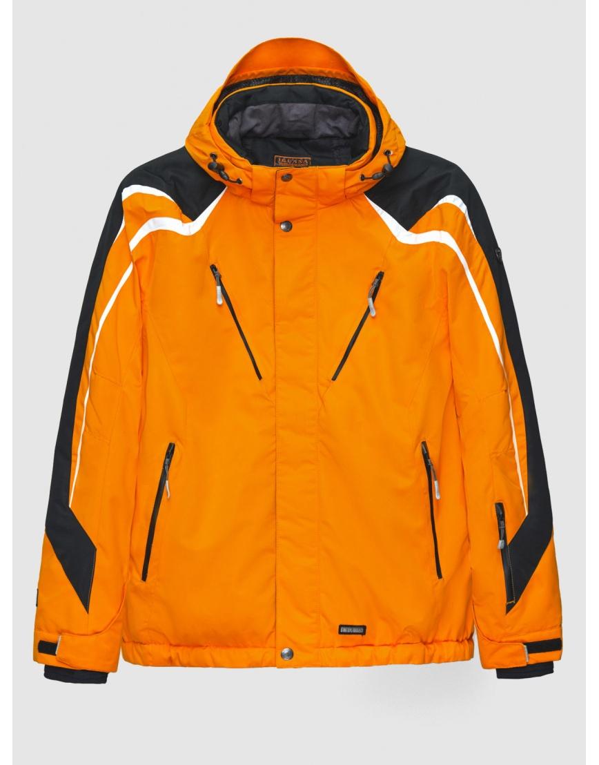 50 (L) – последний размер – оранжевая горнолыжная куртка Iguana зимняя мужская 200027 фото 1