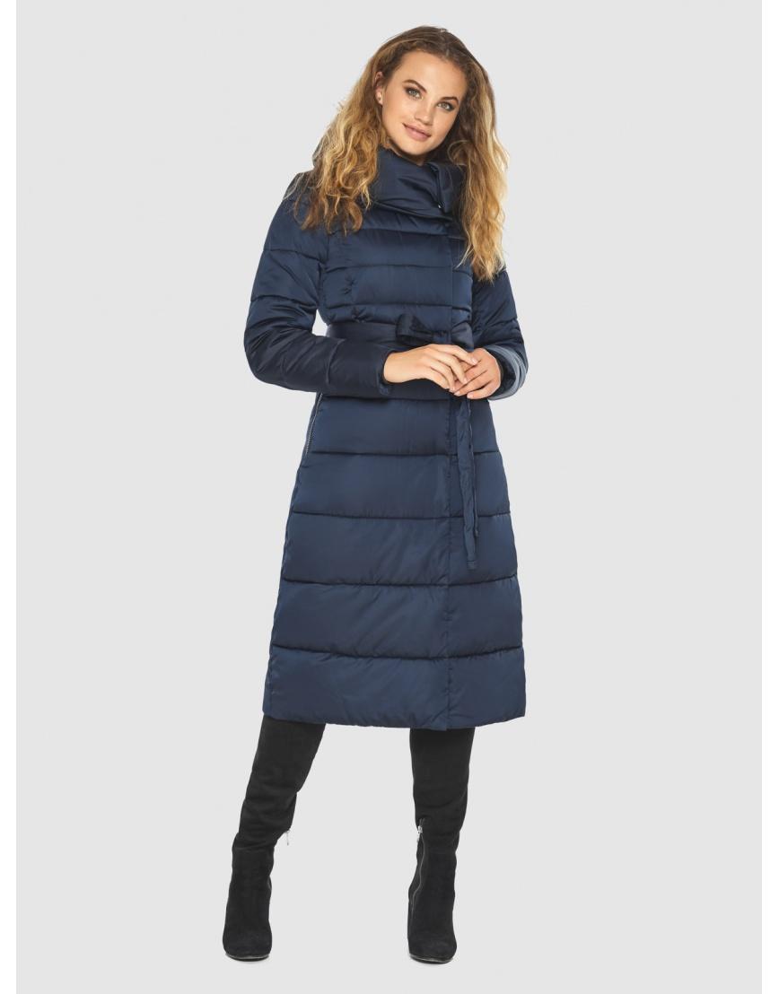 Брендовая синяя куртка женская Kiro Tokao 60015 фото 6