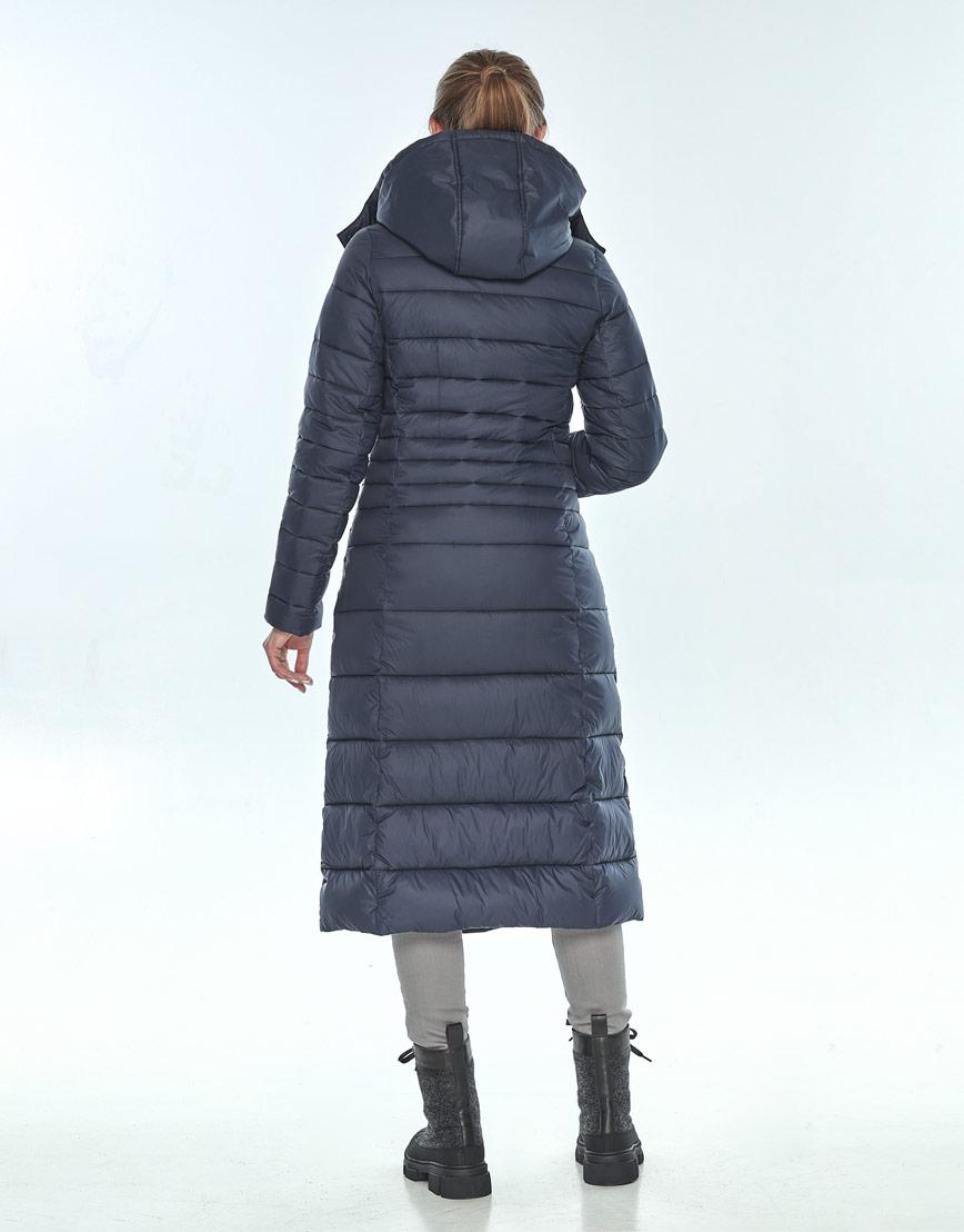 Практичная женская куртка Ajento зимняя синяя 21375 фото 3