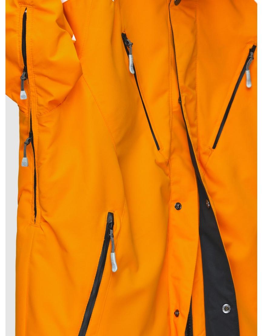 50 (L) – последний размер – оранжевая горнолыжная куртка Iguana зимняя мужская 200027 фото 5