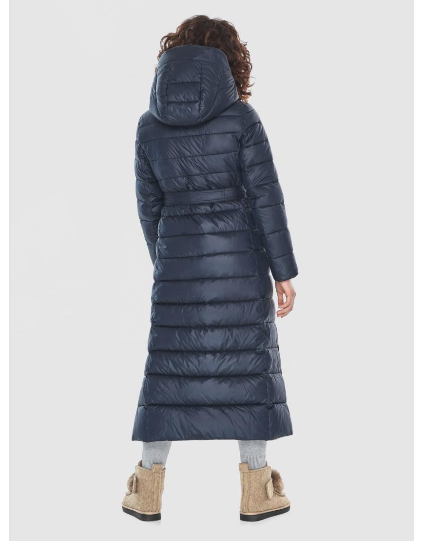 Женская куртка Moc синяя тёплая M6210 фото 4