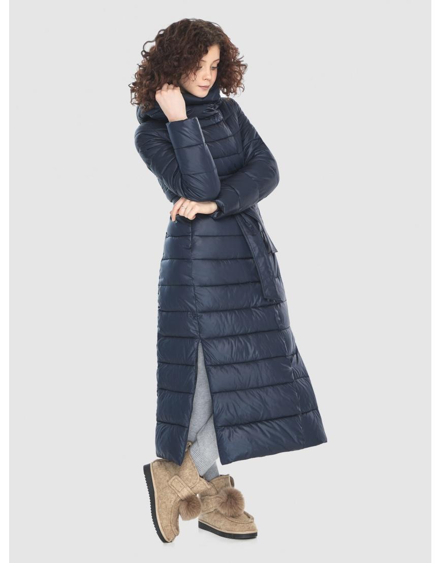 Женская куртка Moc синяя тёплая M6210 фото 1