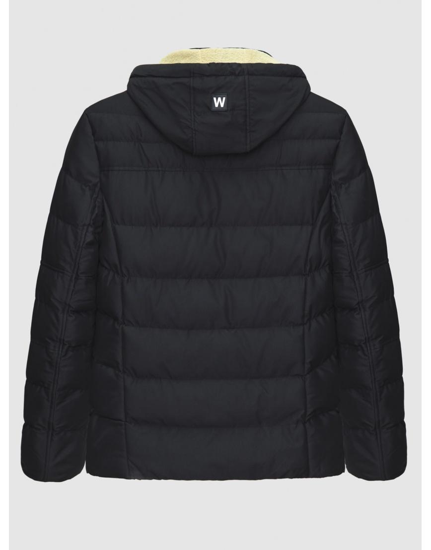 54 (XXL) – последний размер – куртка с капюшоном чёрная MFKK мужская для зимы 200028 фото 2
