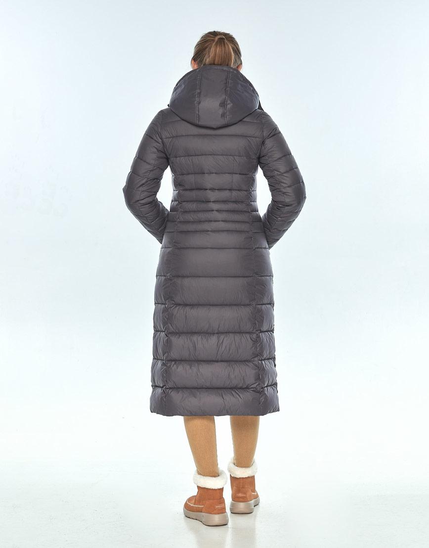 Куртка Ajento удобная серая женская на зиму 21375 фото 3