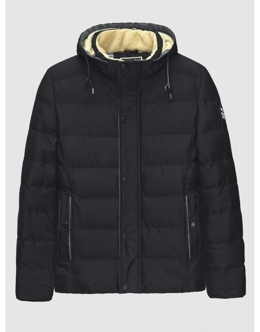 54 (XXL) – последний размер – куртка с капюшоном чёрная MFKK мужская для зимы 200028 фото 1