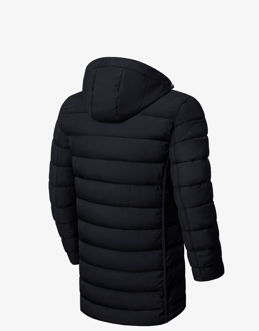 Куртка зимняя стильная черная модель 8803 фото 2