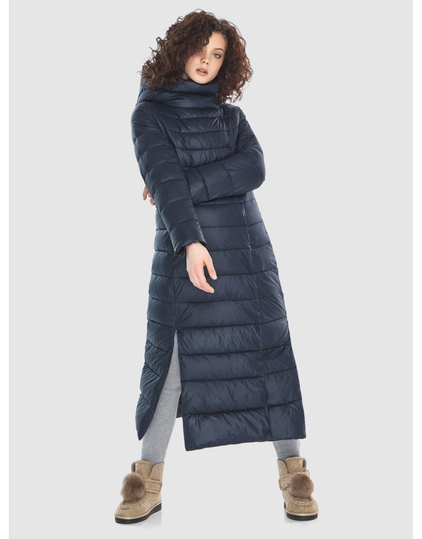 Женская куртка Moc синяя тёплая M6210 фото 2