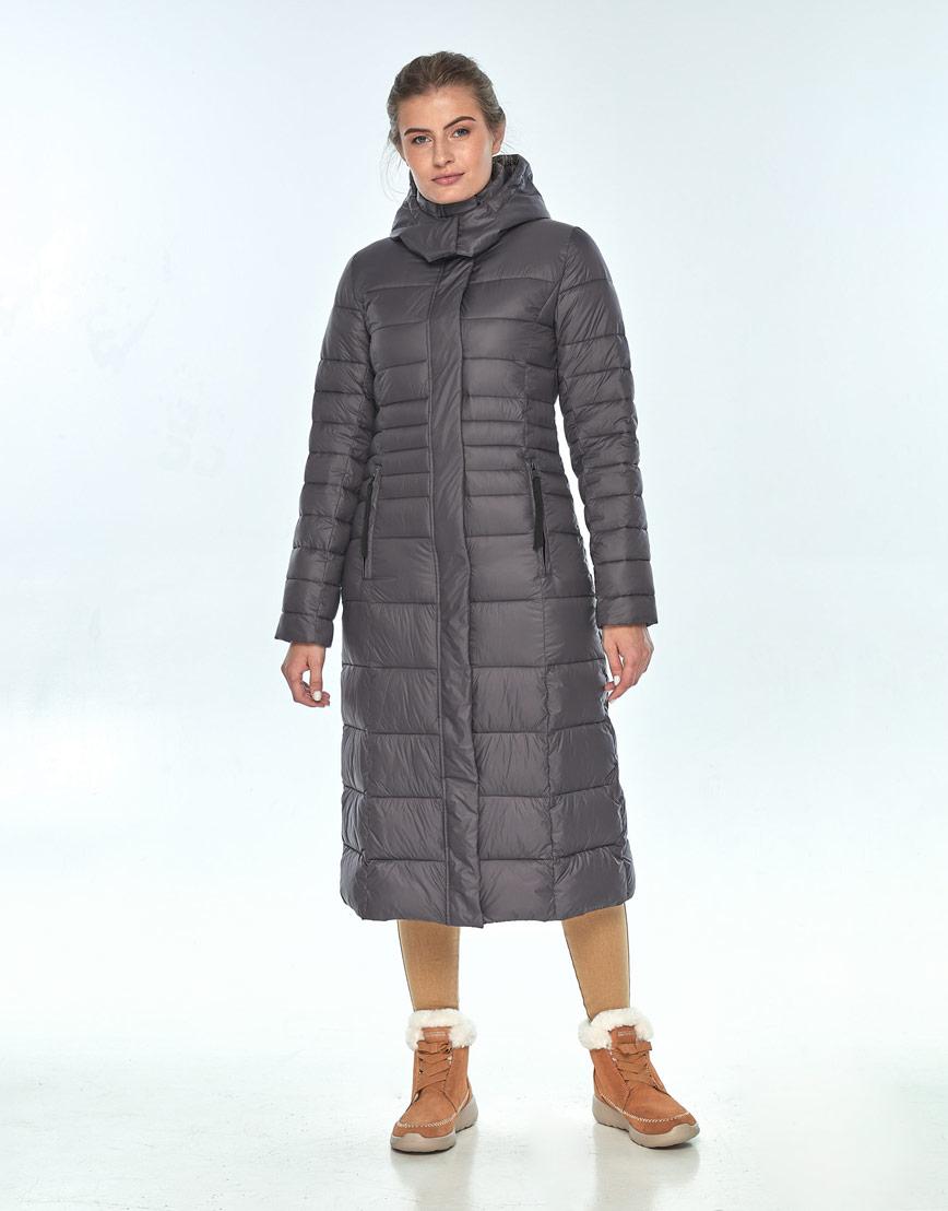 Куртка Ajento удобная серая женская на зиму 21375 фото 1