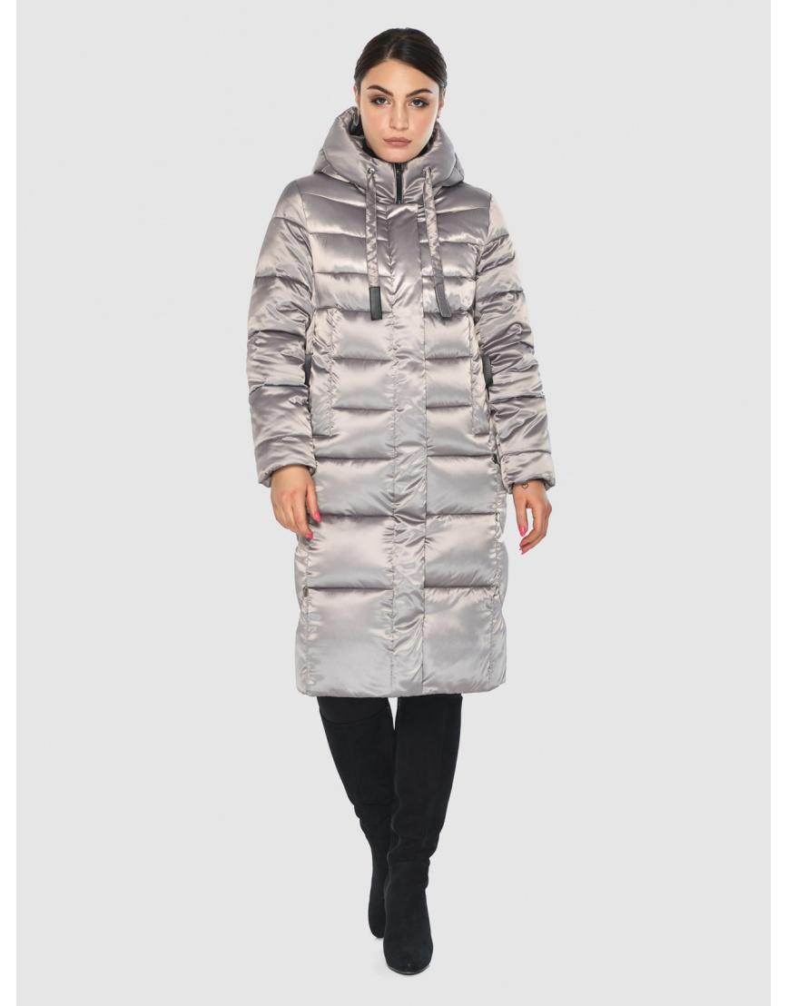 Куртка тёплая женская Wild Club кварцевая 541-94 фото 6
