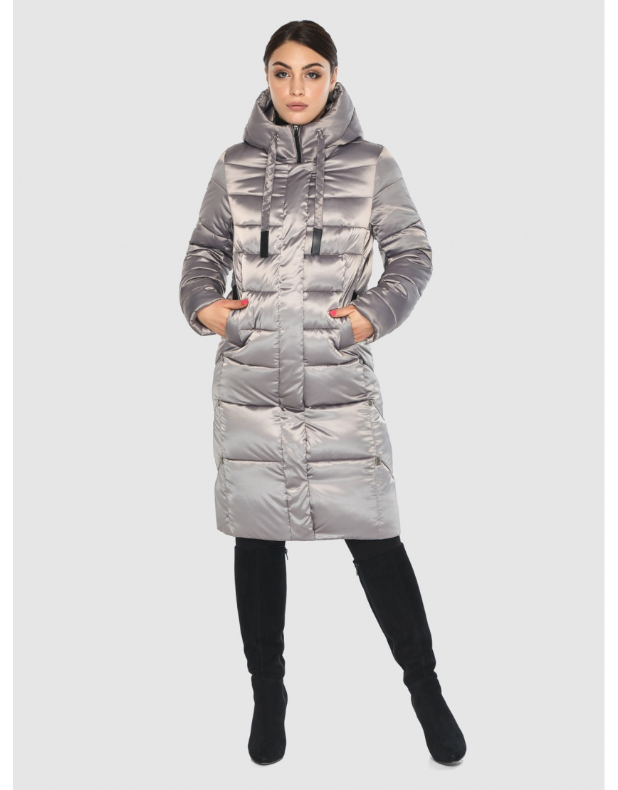 Куртка тёплая женская Wild Club кварцевая 541-94 фото 3