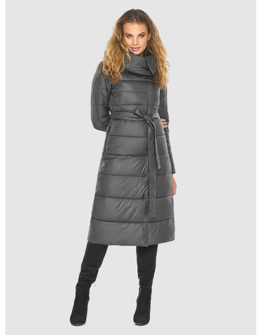 Серая фирменная куртка женская Kiro Tokao 60015 фото 1