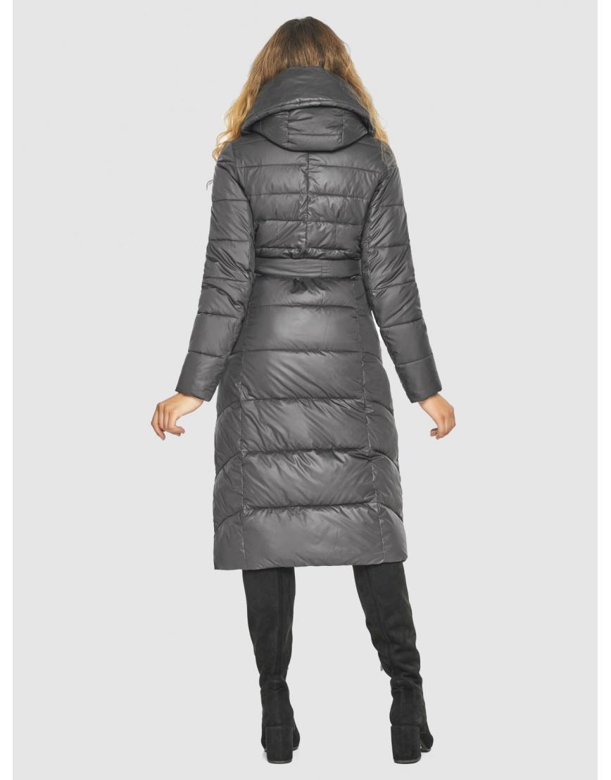 Серая фирменная куртка женская Kiro Tokao 60015 фото 4