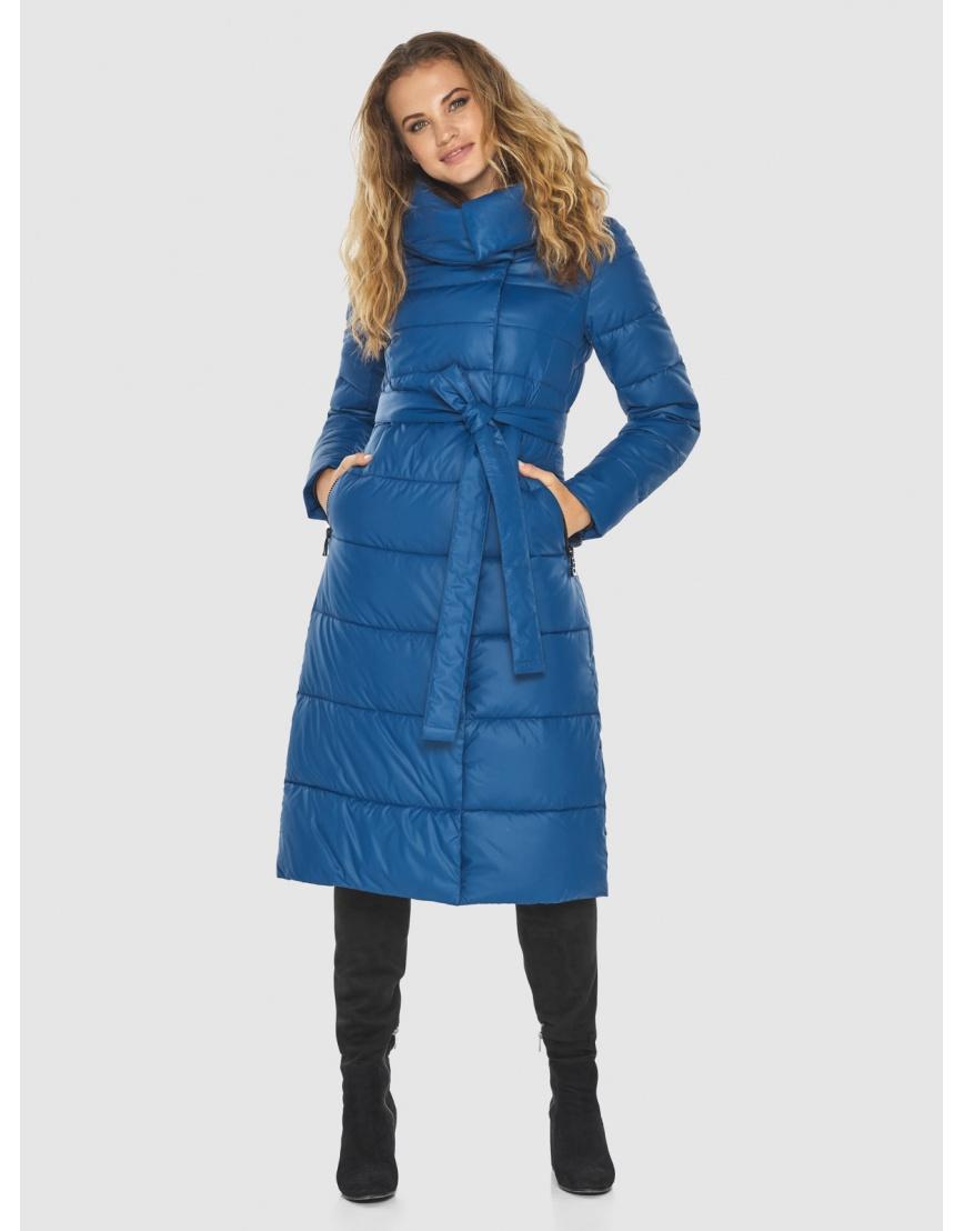 Удобная куртка Kiro Tokao женская синяя 60015 фото 5