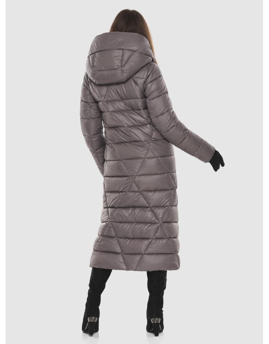 Пудровая стильная куртка женская Ajento 23795 фото 4