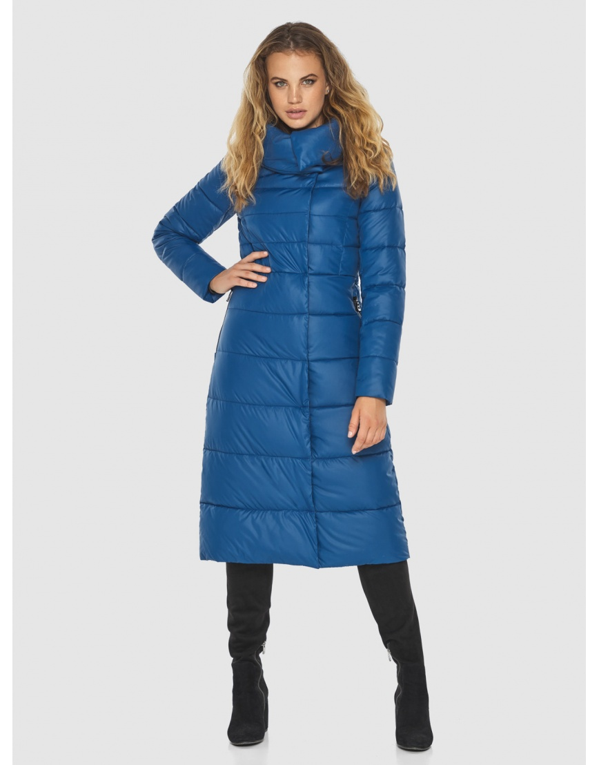 Удобная куртка Kiro Tokao женская синяя 60015 фото 3