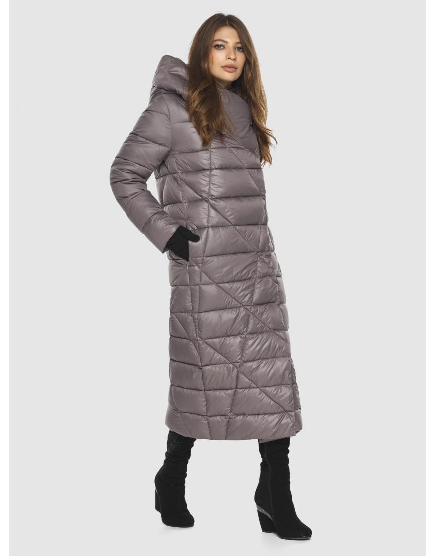 Пудровая стильная куртка женская Ajento 23795 фото 5
