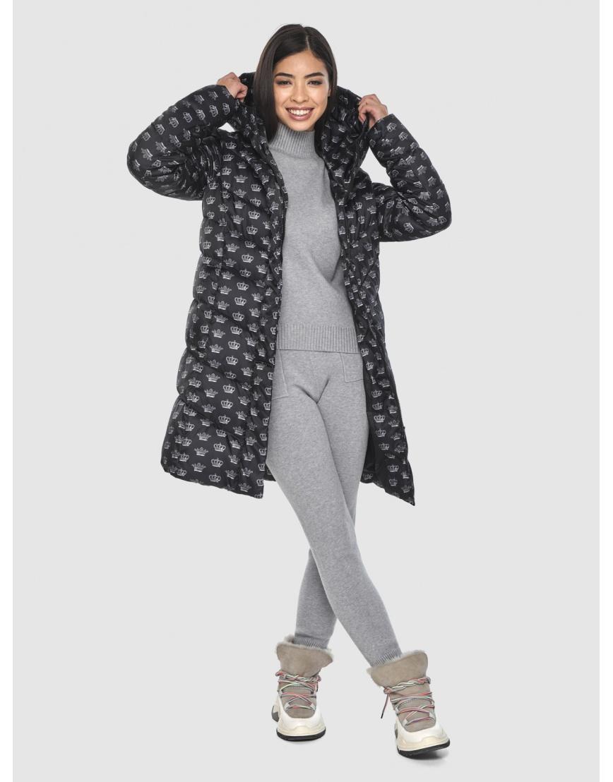 Куртка элегантная подростковая Moc с рисунком зимняя M6540 фото 2