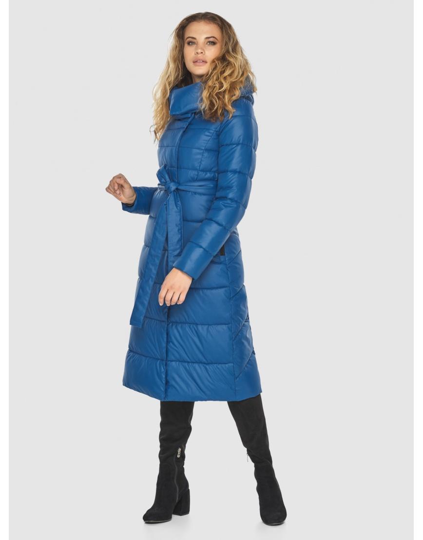 Удобная куртка Kiro Tokao женская синяя 60015 фото 2