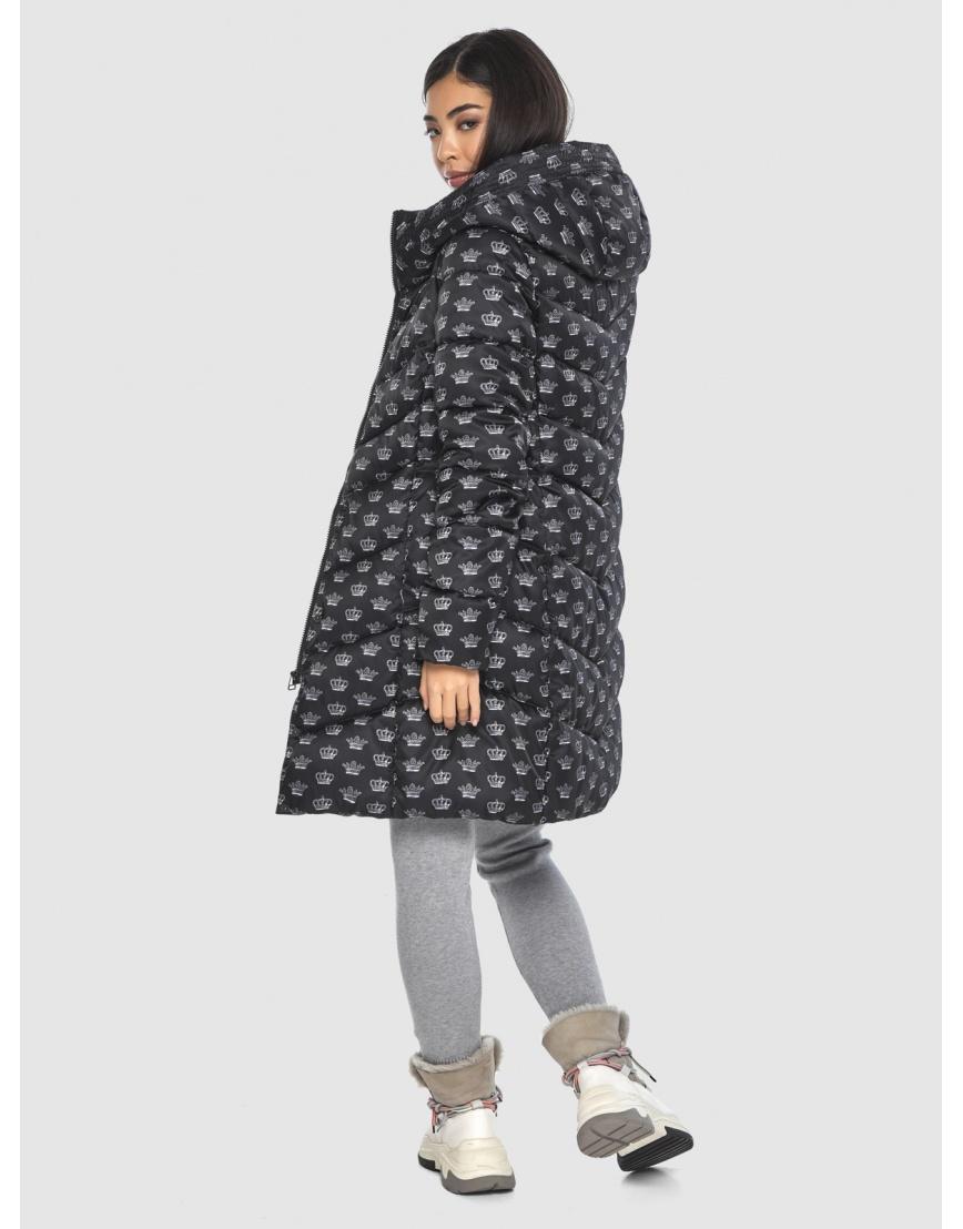 Куртка элегантная подростковая Moc с рисунком зимняя M6540 фото 4