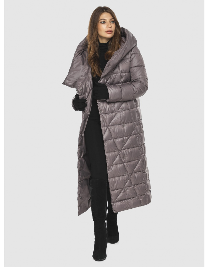 Пудровая стильная куртка женская Ajento 23795 фото 2