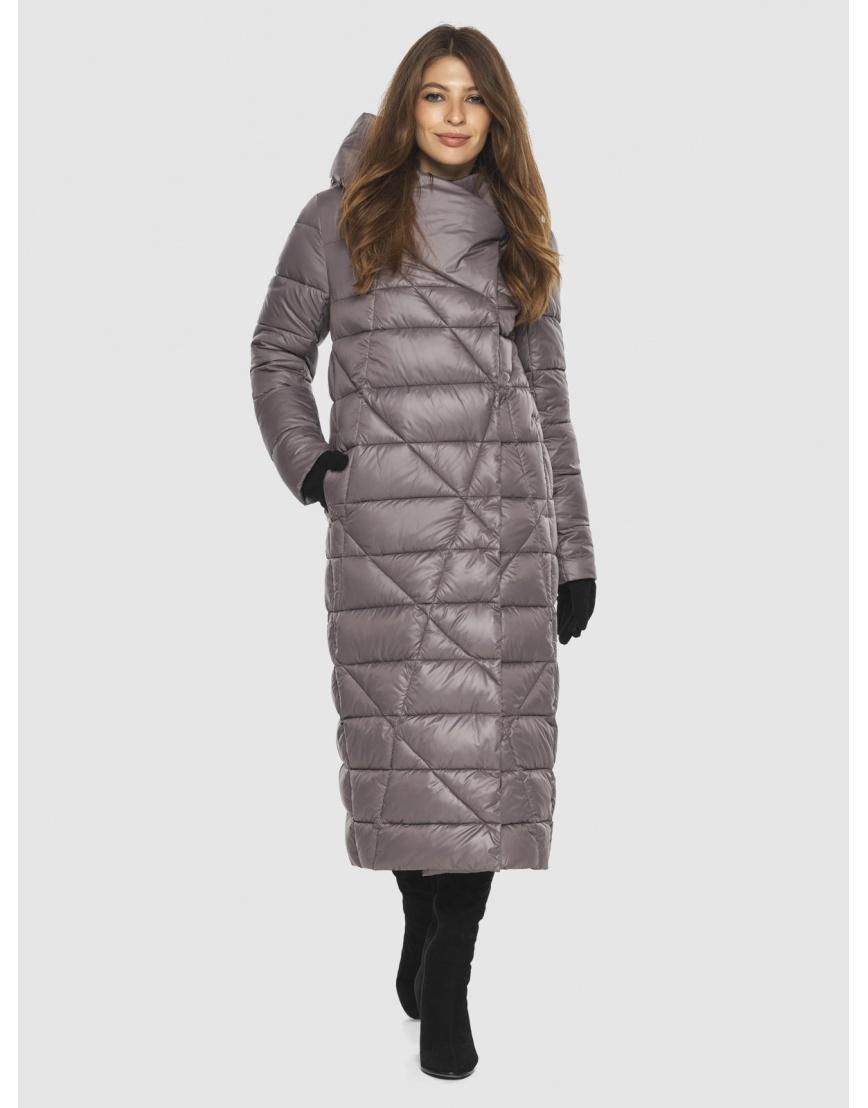 Пудровая стильная куртка женская Ajento 23795 фото 1