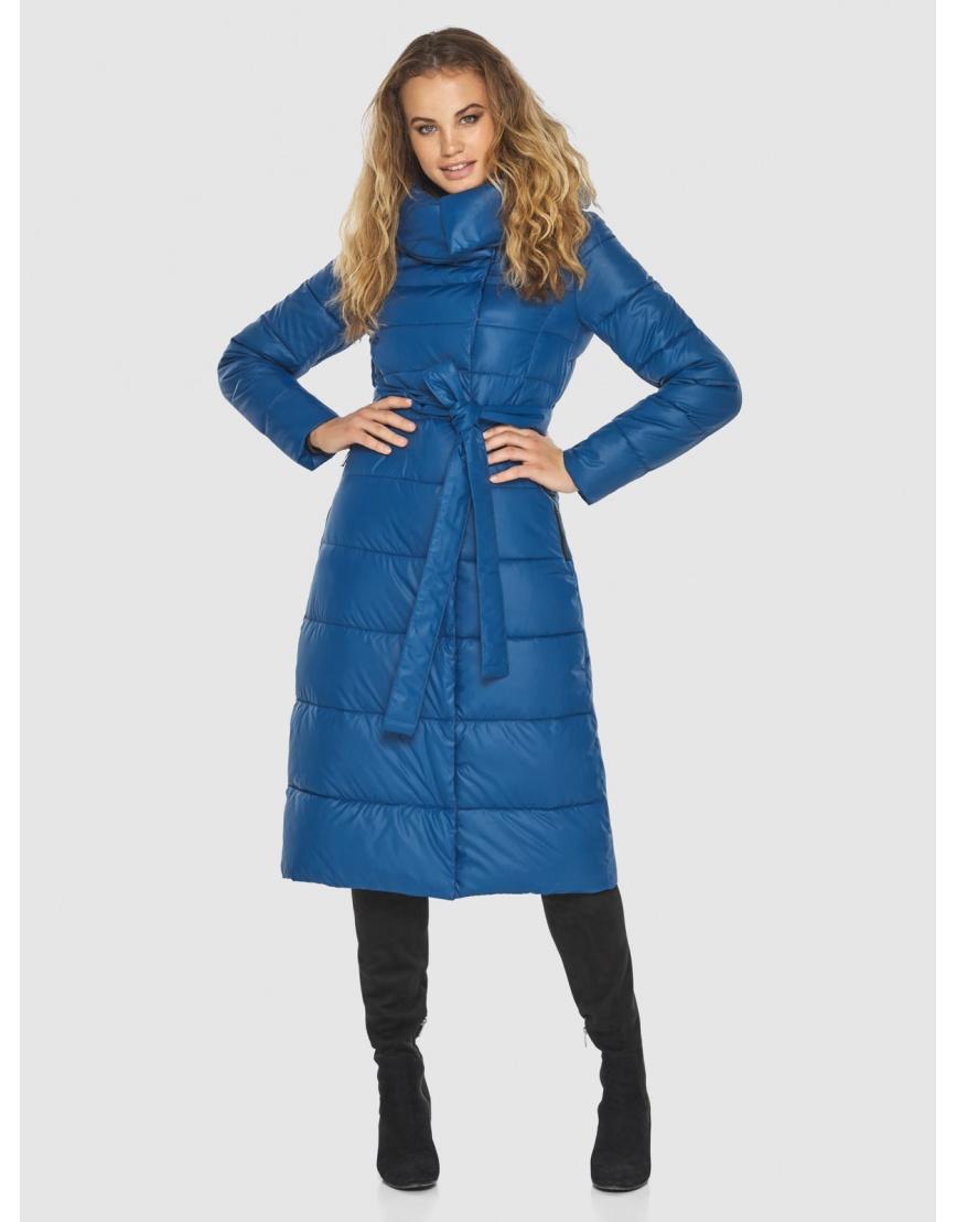 Удобная куртка Kiro Tokao женская синяя 60015 фото 6
