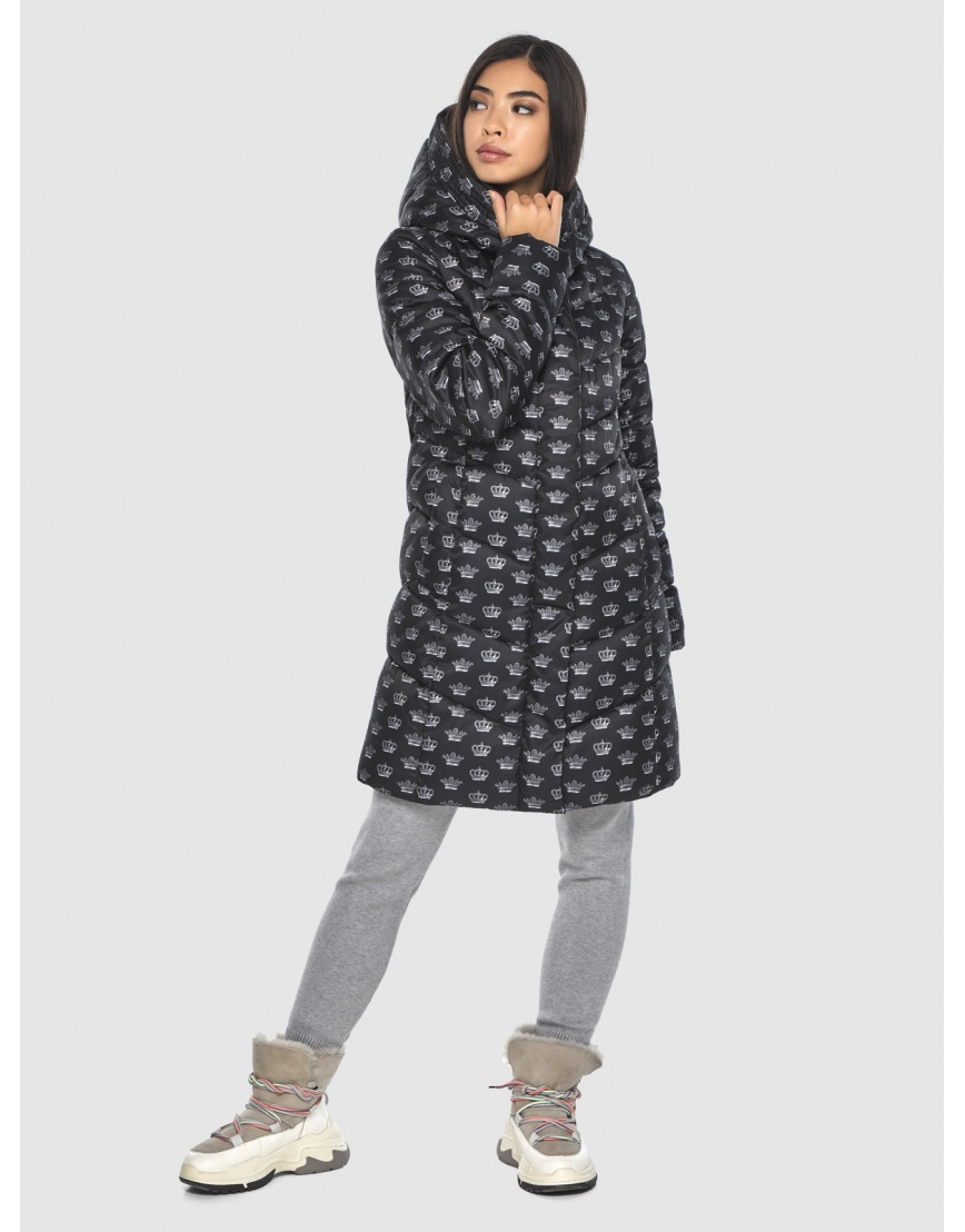 Куртка элегантная подростковая Moc с рисунком зимняя M6540 фото 1