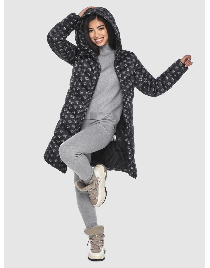 Куртка элегантная подростковая Moc с рисунком зимняя M6540 фото 6