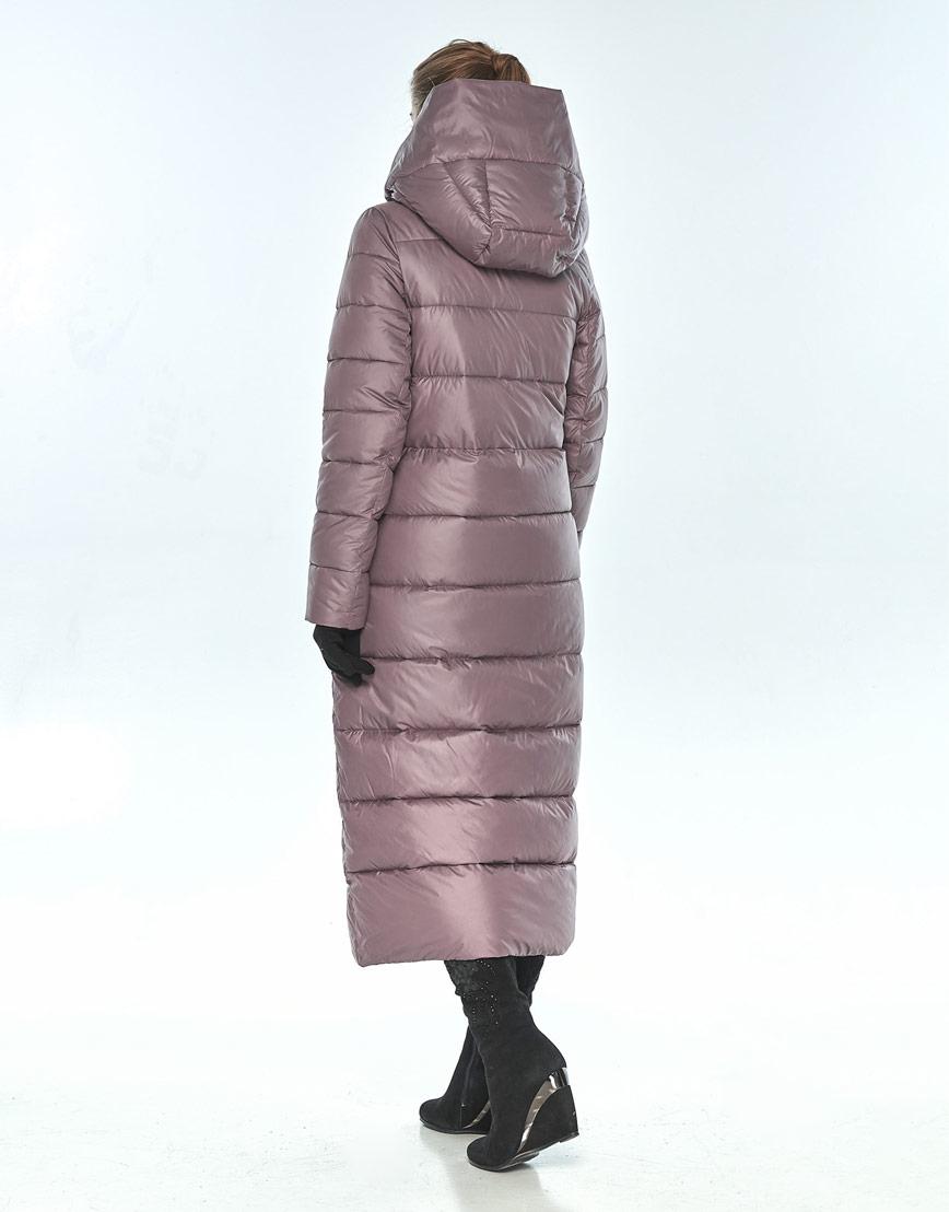 Зимняя пудровая куртка Ajento комфортная женская 23046 фото 3