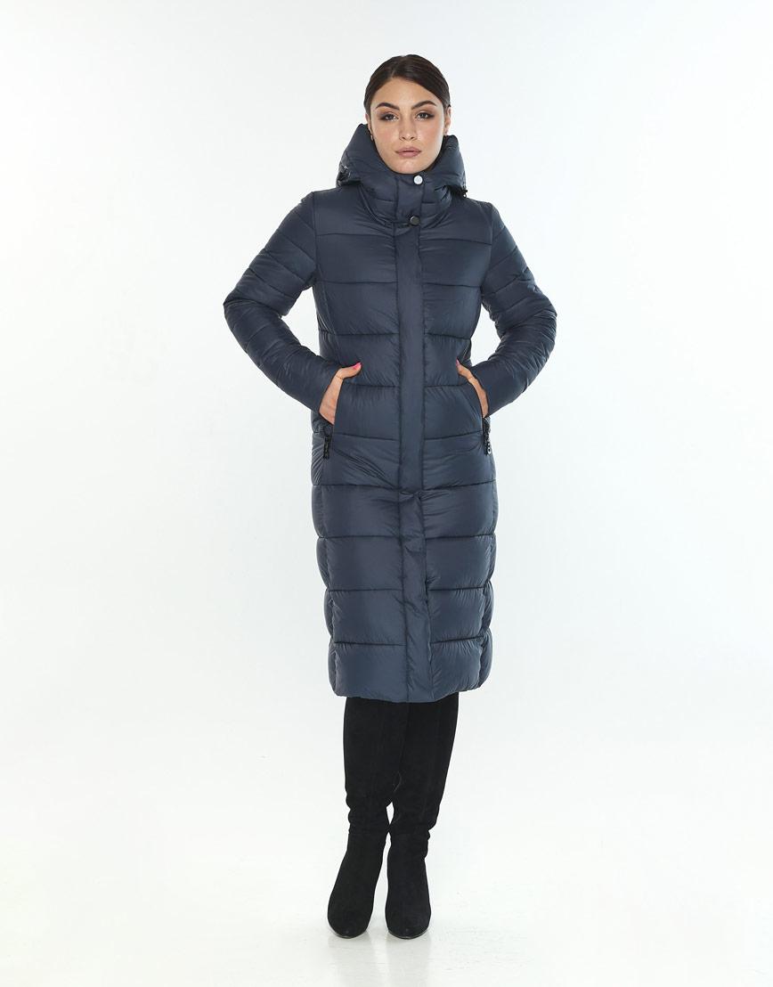 Женская куртка удобная Wild Club цвет синий 538-74 фото 1
