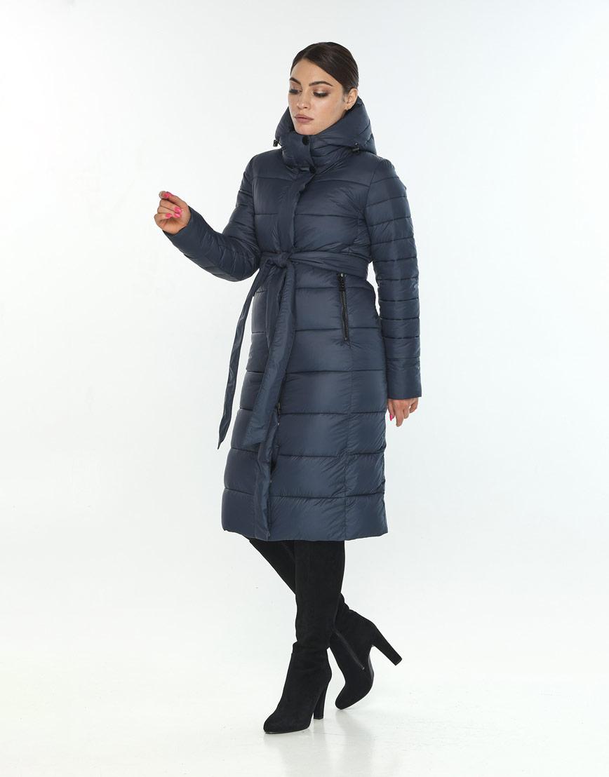 Женская куртка удобная Wild Club цвет синий 538-74 фото 2