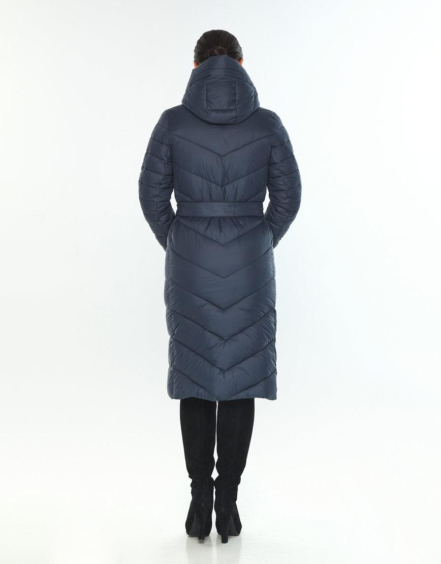 Женская куртка удобная Wild Club цвет синий 538-74 фото 3