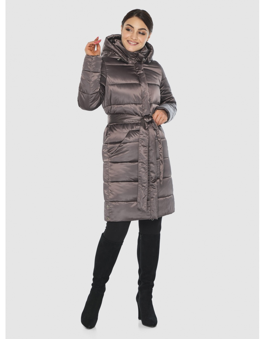 Куртка женская Wild Club практичная капучиновая 584-52 фото 2