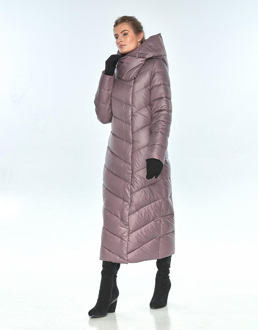 Зимняя пудровая куртка Ajento комфортная женская 23046 фото 1