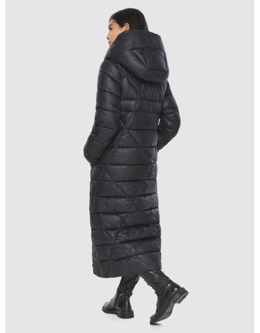 Куртка элегантная на подростка чёрная Moc зимняя M6715 фото 4