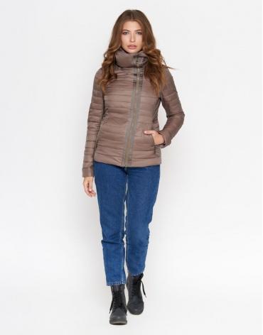 Куртка цвета капучино женская модель 828