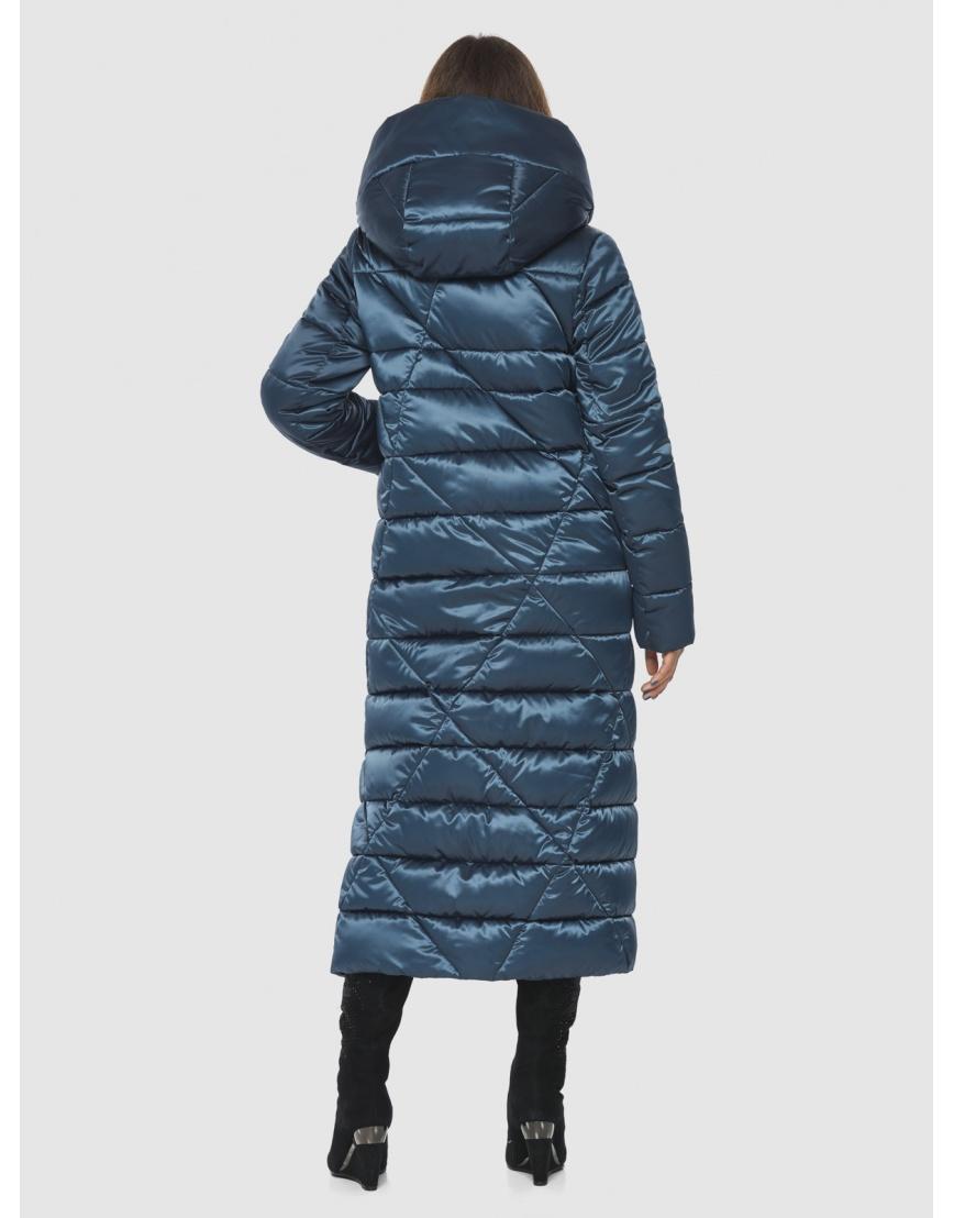 Синяя женская комфортная куртка Ajento 23795 фото 4