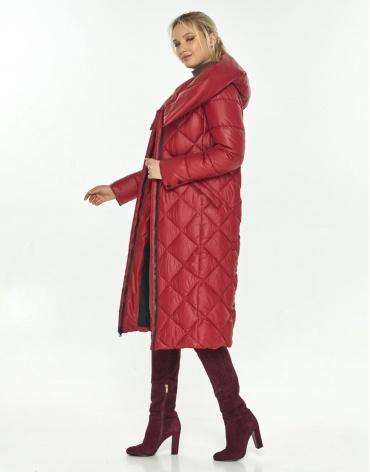 Красная комфортная куртка Kiro Tokao женская 60074 фото 1