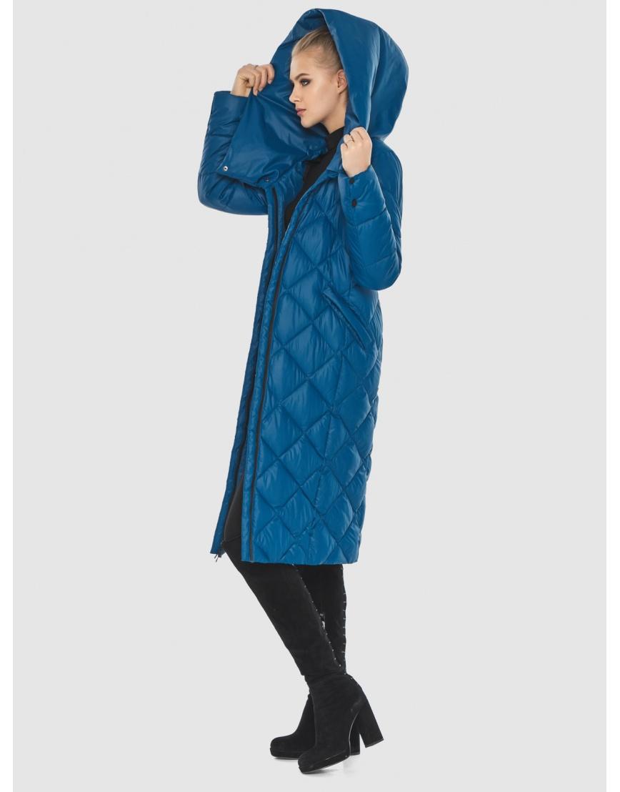 Синяя куртка Tiger Force женская стёганая TF-50233 фото 3