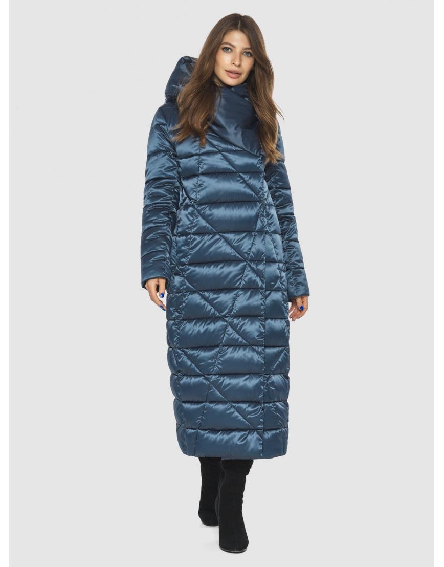 Синяя женская комфортная куртка Ajento 23795 фото 1