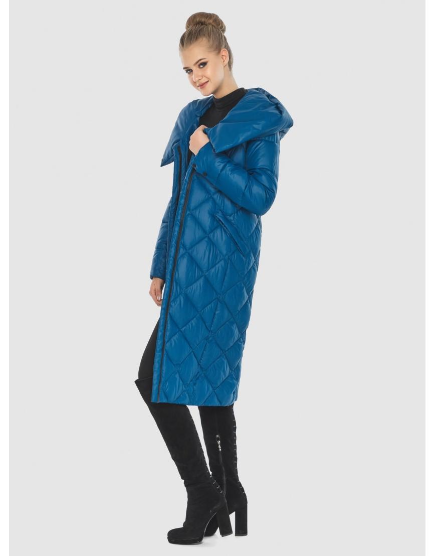 Синяя куртка Tiger Force женская стёганая TF-50233 фото 2