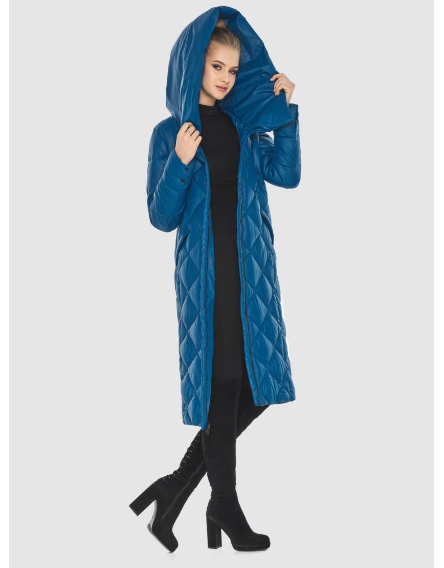 Синяя куртка Tiger Force женская стёганая TF-50233 фото 6