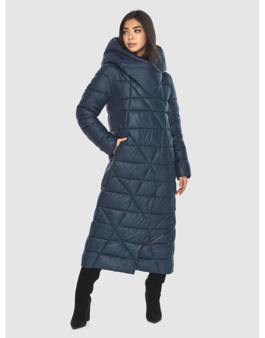 Куртка подростковая синяя Moc комфортная зимняя M6715 фото 1