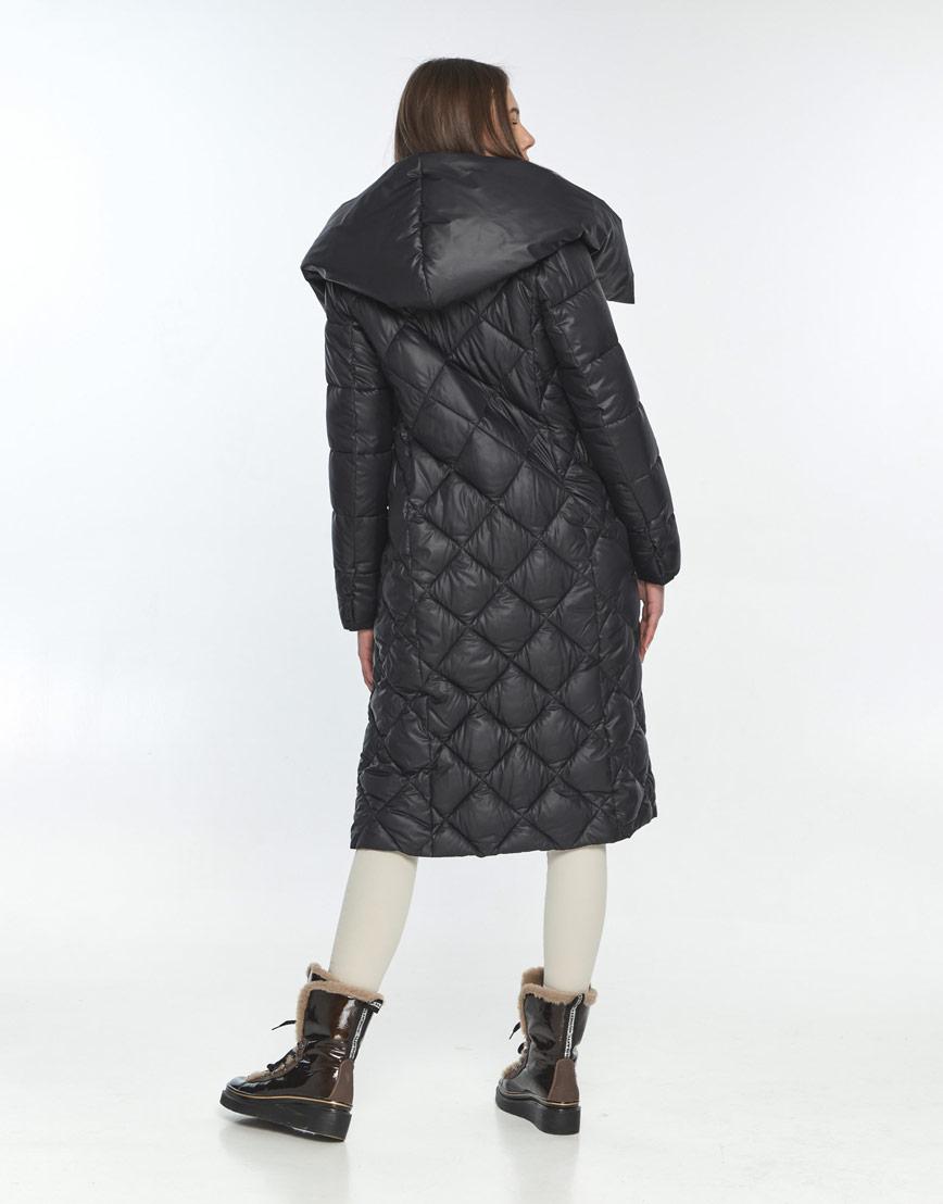 Чёрная куртка практичная женская Wild Club 594-37 фото 3