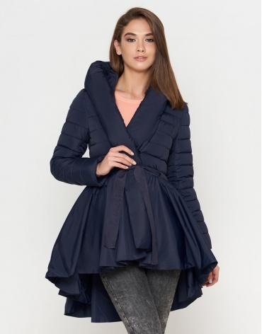 Модная синяя женская куртка модель 25755 фото 1