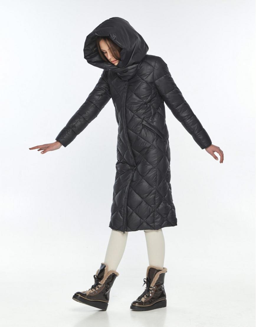 Чёрная куртка практичная женская Wild Club 594-37 фото 1